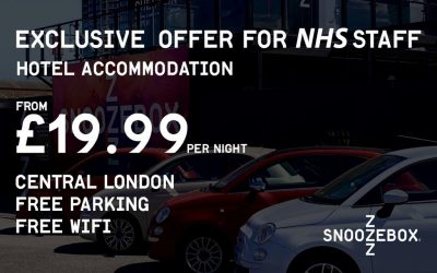 Exclusive Hotel Accommodation Offer For NHS Staff at Snoozebox