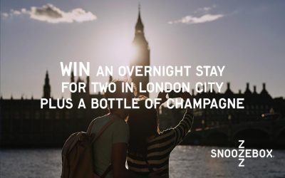 WIN! An Overnight Stay for Two in London plus a Bottle of Champagne