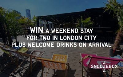 WIN! A WEEKEND STAY IN LONDON WITH SNOOZEBOX